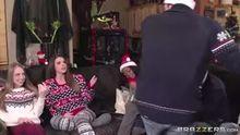 Shawna Lenee & Brooklyn Chase   Xmas Sweater Party   BabyGotBoobs