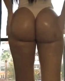 Jailyne Ojeda's Oiled Butt