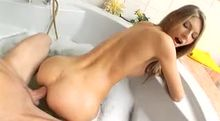 Sexy Tub Anal Machine