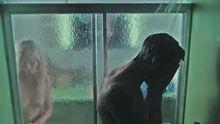 Kirsten Dunst slow motion shower tits.