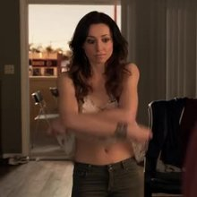 "Christy Williams undressing in ""Ray Donovan"""