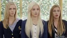 Elsa Jean Rachel James and Sydney Cole - Preppy Baby Threesome Get Three BBCs