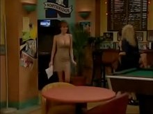"Nikki Cox big breasts on ""Unhappily Ever After"""
