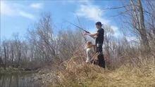 Fishing for largemouth