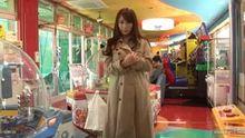 Marina Shiraishi wearing the flasher starter pack