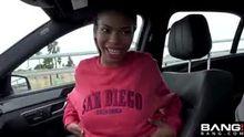 Nia Nacci passenger seat flash