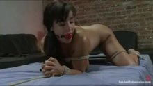 "Lisa Ann tied up and fucked in ""Sex and Submission"""