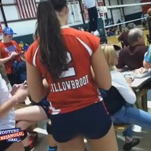 Volleyball Womans Like Butts