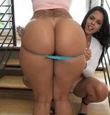 Shaking that phat butt