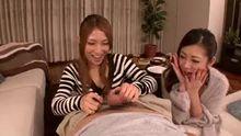 Minori Hatsune and Kokomi Sakura | Stepsister Threesome