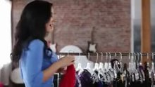 Jayden Jaymes tries on some lingerie