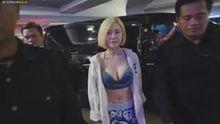 Dj.Soda - Showing off her cleavage & her proud Korean Bikini body in Indonesia 230118