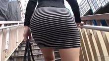 Asahi Mizuno's Bubble Ass