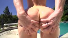 The Slow Mo Spread of AJ Applegate's Butt