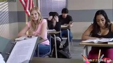 Tia Cyrus - Big Breasts at School