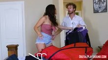 Aubrey Sinclair licks out Keisha Grey and leaves