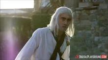 Geralt of Rivia and Triss Merigold