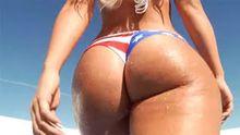 Star spangled butt