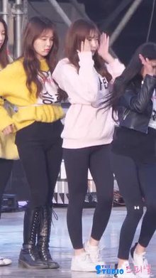 OMG - Yooa's Ass pops into Arin's Fancam(Switch off HD for Less Pixelation)