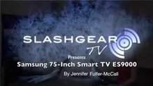Slashgear Babe Demos Samsung TV, Hardcore Version