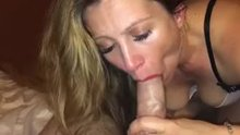 wet-n-hard creampie and she shows the prize