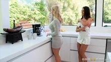 Adriana Chechik and Alexis Fawx have a sloppy wet session