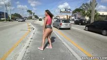 Abella Danger Twerking for Miami Traffic