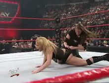 Stephanie McMahon and Trish Stratus