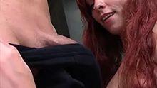 Slut in awe of a powerful penis