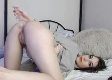 Some anal play from audrey_