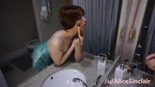 Letting my brother fuck me while I get ready for my date [Re-post due to prior dead link]