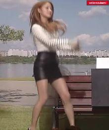 KARA Gyuri nice outfit