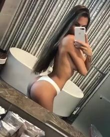 Viki Odintcova Wiggles her Booty