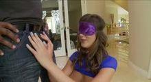 Purple Blindfold
