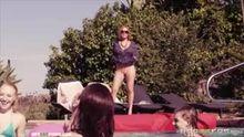 Milf Crashes Pool Party - Krissy Lynn
