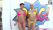 Honey Gold and Aaliyah Hadid