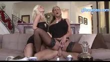 The Big Cock Coffee Club , Brandi Edwards, Phoenix Marie , Johnny Sins