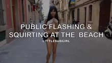 Letting it all hang out in public  )