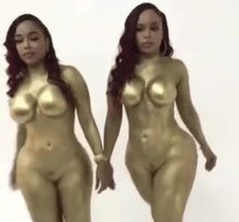 Double Dose Twins in Gold
