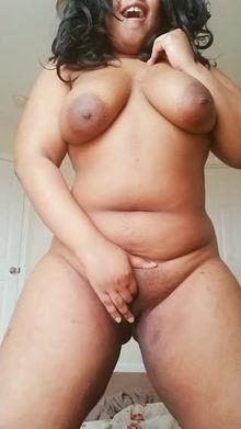 Fondling my breasts always tickles my fancy