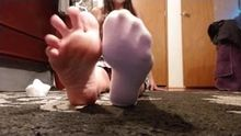 Wife removing socks in this 4 minute joi video. Message me for details!!