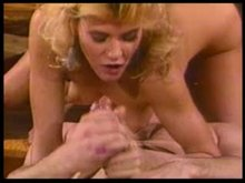 ginger lynn takes one to the face