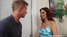 MILF Syren De Mer gets plowed by a younger guy