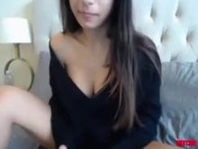 Showing Off Her Breasts On Cam
