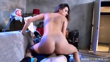 Skinny teen Ashley Adams likes it rough
