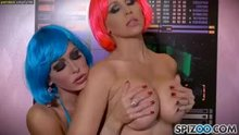Jessica Jaymes and Julia Ann - Sex in Space