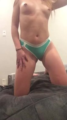 [19] College athlete ready to get these panties wet!