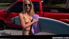 Sunny Stone | Hot Blonde Amateur Surfer
