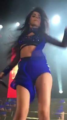 Fifth Harmony Camila Cabello giving a close view
