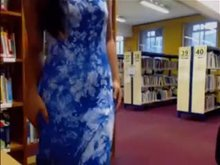 Getting caught flashing in the library